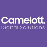 "The words ""Camelott. Digital Solutions"" in white text on a purple background."